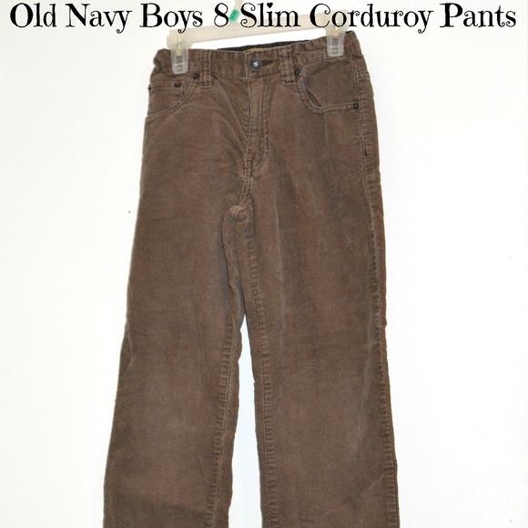 a3d76e3296 Boys 8 Slim Corduroy Pants